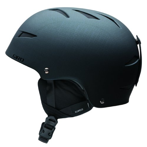 Giro Youth Recruit 2 2009 Snow Helmet (Matte Black Block Letters, Small), Outdoor Stuffs