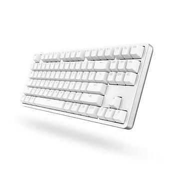Xiaomi yuemi 87 teclas teclado mecánico para juegos de trabajo de oficina/con diseño compacto y retroiluminación LED: Amazon.es: Electrónica