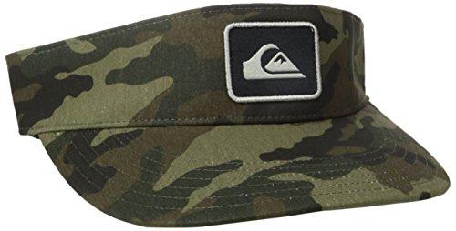 Quiksilver Men's Bradley Hat, Camo, One - Quicksilver Visor