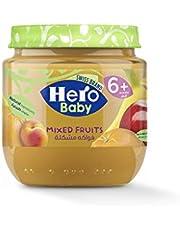 Hero Baby Mixed Fruits Jar, 125 gm