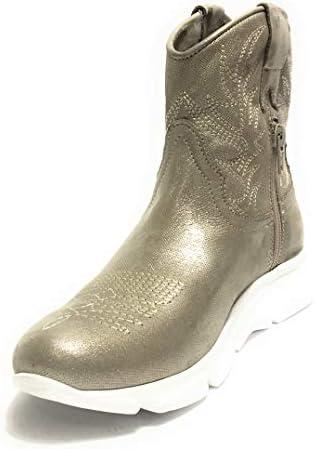 Botas de Mujer Texano Fondo Running Life de Piel laminada Platino DS19LI03 Size: 37 EU  bCrrU