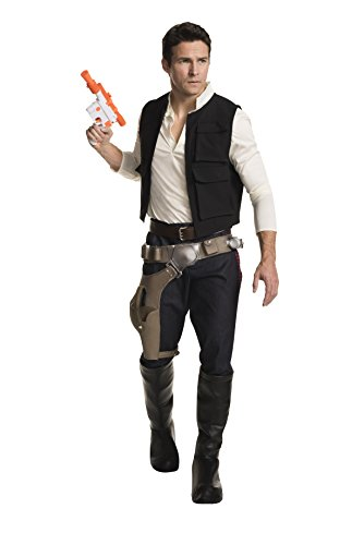 Star Wars Classic Grand Heritage Han Solo Costume, Multi, Men's Extra-Large - Top Gun Family Costume