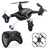 DROCON Mini Drone for Kids with 720P Adjustable HD Camera, Quadcopter for Beginners with Altitude Hold Mode, One-Key Return and Headless Mode, Supports 8GB TF Card