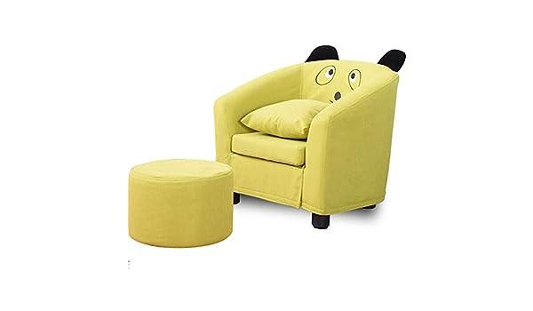 HCH SILLA Juego de sofás para niños Sillón para niños, sillón reclinable con Herramienta portátil para pies Sillón de Descanso Individual, para el Dormitorio de la casa Sala de Estar Interior: Amazon.es: