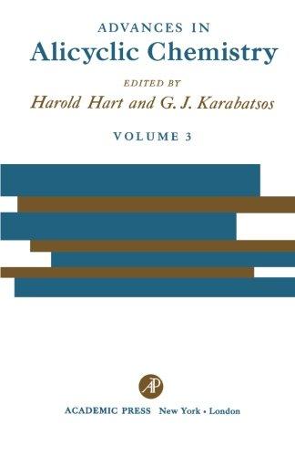 Download Advances in Alicyclic Chemistry: Volume 3 pdf