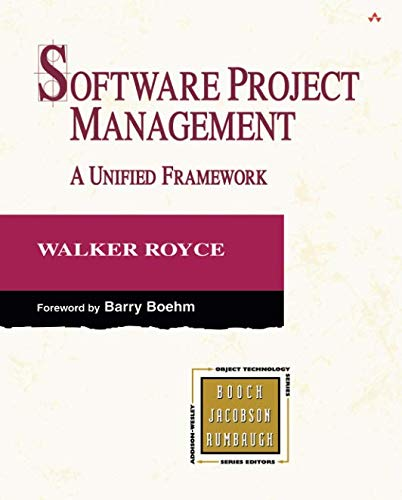 Software Project Management: A Unified Framework (paperback) (The Addison-wesley Object Technology)