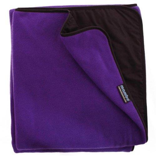 Purple Stadium - Mambe Large Essential 100% Waterproof/Windproof Stadium, Camping, Picnic and Outdoor Blanket (Large, Purple)