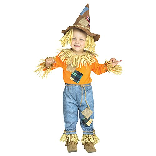 Toddler Li'l Scarecrow Wizard of Oz Costume size XL 4-6]()