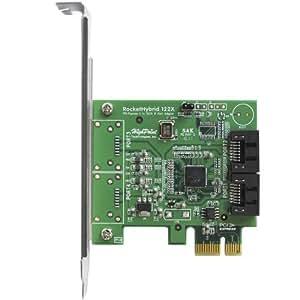 HighPoint RocketHybrid 1220 PCI-Express 2.0 x1 Dual-Port SATA 6Gb/s Host Adapter