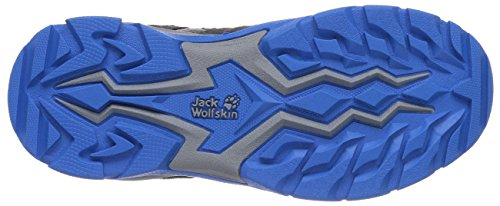 Jack Wolfskin VOLCANO LOW TEXAPORE Jungen Trekking- & Wanderhalbschuhe Grau (classic blue 1127)