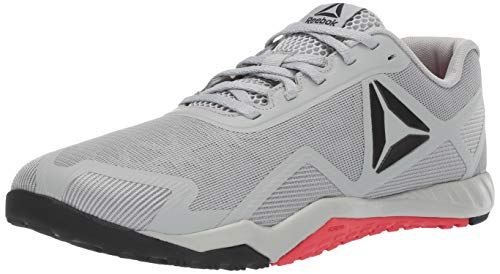 Reebok Men's ROS Workout TR 2.0, Stark Grey/Primal red/Black, 9 M US