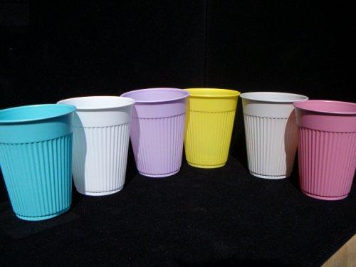 Plastic Drinking Cups, White, 5 Oz., 1,000/box