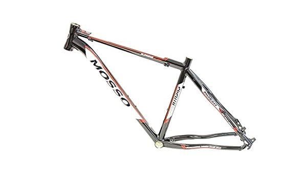 Mosso 2620TB_001_18 Cuadro de Bicicleta, Unisex Adulto, Negro: Amazon.es: Deportes y aire libre