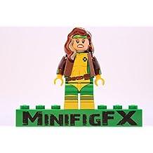 Lego Custom Printed Rogue Minifig Marvel X-Men Mutant Anna Marie Darkholme