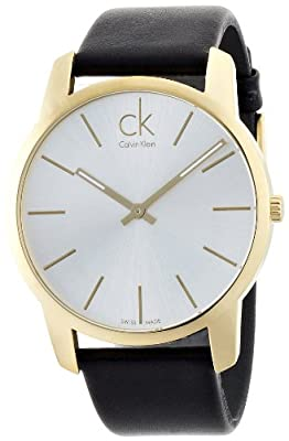 City Men's Watch Dial/Cace Color: Silver/Gold