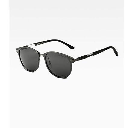 Defect Hombres al magnesio polarizado Gafas de Sol piloto al Aire Libre Viajes Controlador Gafas de