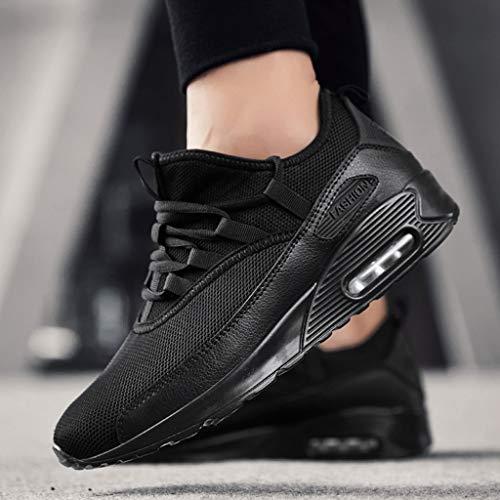 Course De Yebiral Baskets Noir Lacets Chaussures Les Femme AXx1qCPw