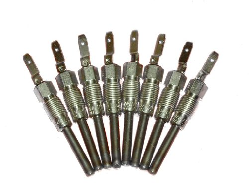 Wellman Glow Plugs Compadible with: 6.2L Diesel in Military CUCV M1008 M1009 K30 K5 G070 070 M1010 M1028 M1031 (set of 8)