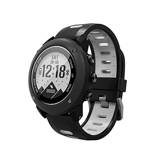 SoonCat GPS Watch for Men, Running Smart Watch All Black Military Men