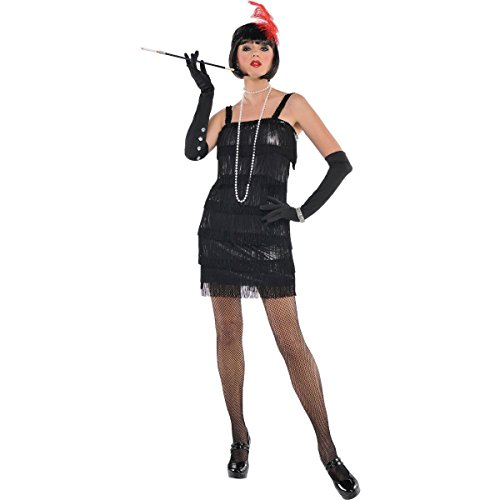 [Womens Flashy Flapper Costume Size Small (2-4)] (Halloween Costumes Ideas For 2 Friends)