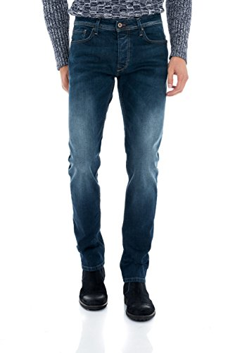 Salsa - Jeans Lima délavage moyen jambe slim - Homme