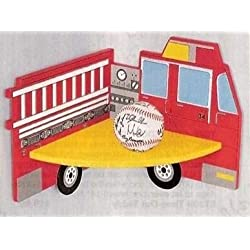 Fire Engine Hanging Corner Shelf for Kids