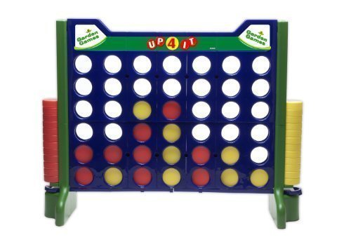 - Giant Indoor/Outdoor Up-4-It | Garden Games - Large Yard Size Four Connect