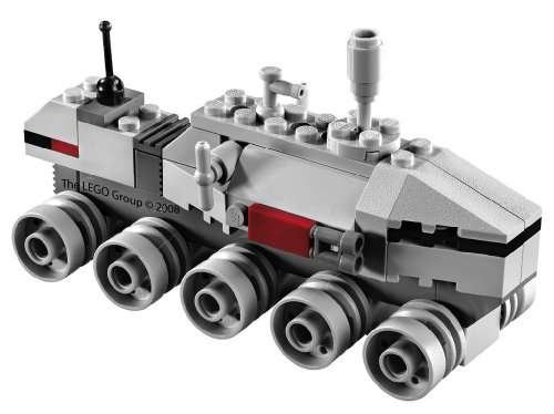 Amazon.com: Star Wars Lego BrickMaster Exclusive Mini Building Set #20006 Clone Turbo Tank (Bagged): Toys & Games