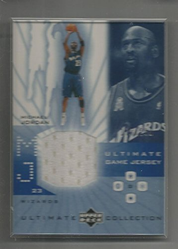 2002-03 Ultimate Collection Basketball Michael Jordan Wizards Jersey Card # 173/250 (Collection Ultimate Jordan)