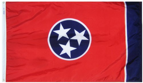 Annin Flagmakers Model 145160 Tennessee State Flag 3x5 ft. N