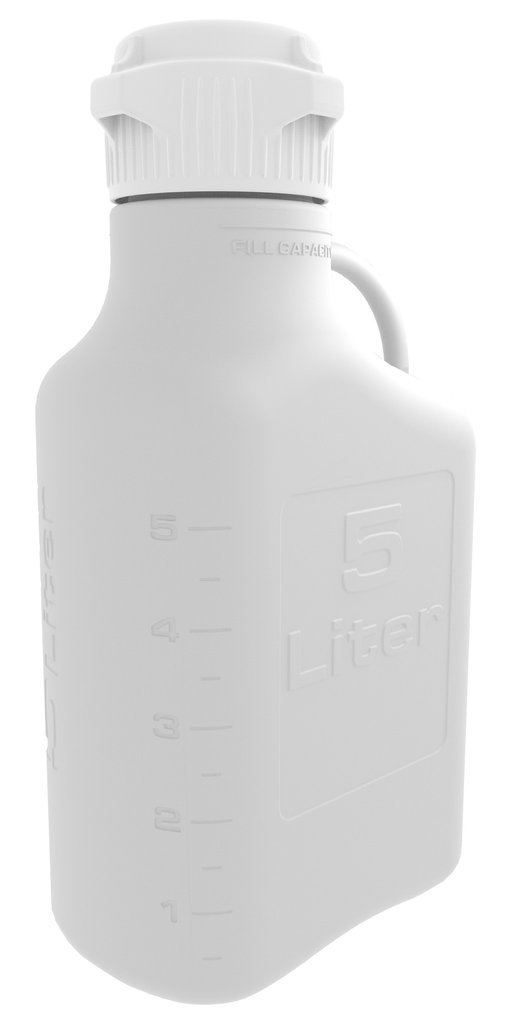 Foxx Life Sciences - 5L (1 Gal) HDPE Carboy with 83mm Cap
