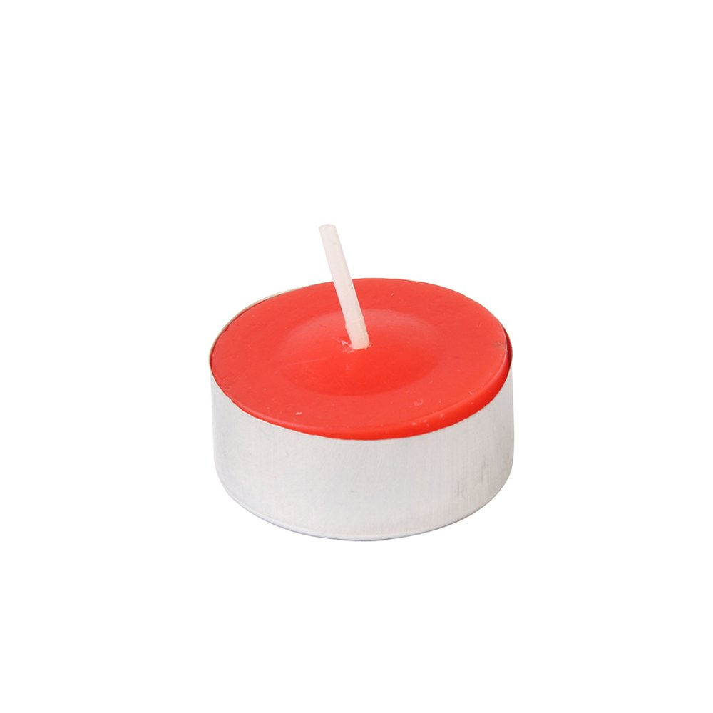 Zest Candle CTC-002_12 1200-Piece Citronella Tealight Candle, Red by Zest Candle