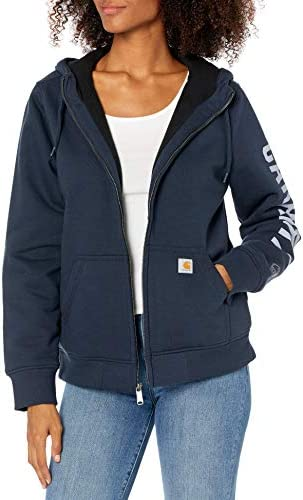 Carhartt Women's Rain Defender Original Fit Lined Graphic Sweatshirt