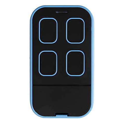 (XIHADA Universal Garage Door Remote Universal Garage Door Opener Remote Universal Gate Remote Control Homelink Remote Multi Frequency 280MHZ-868MHZ … (1, Black with Blue))