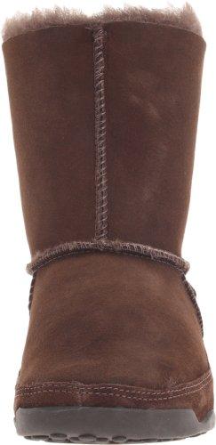 FitFlop Mukluk- Botas para mujer (Chocolate) Marrón, talla 36