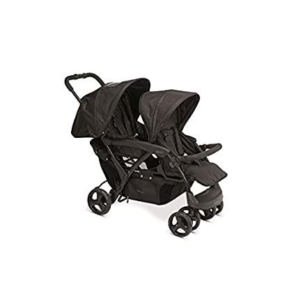 Bebé Due Tandem - Set de carro y bolso, color negro