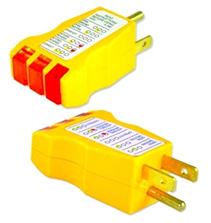 Electrical Receptacle Wall Plug AC Outlet Ground Tester with GFI ...