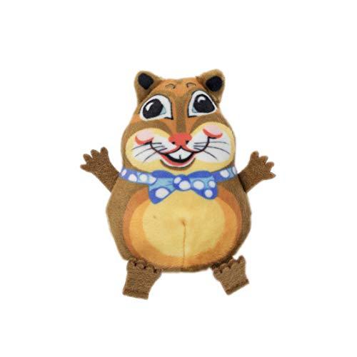 (FUZZU Teacup Fluffs Cat Toy with U.S. Grown Certified Organic Catnip -)