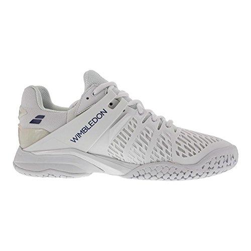 Babolat Hombres? s Propulse AC Wimbledon tenis zapatos 2017 blanco