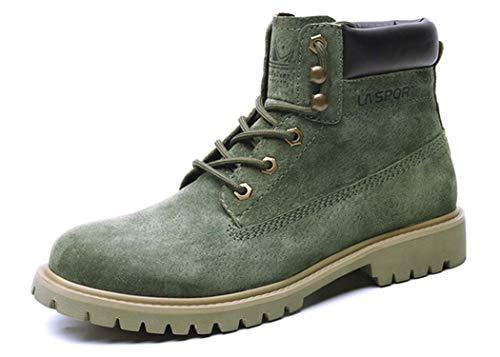 Green Pelle Stivali In Martellata Da 40EU Uomo wqq1XvT7W