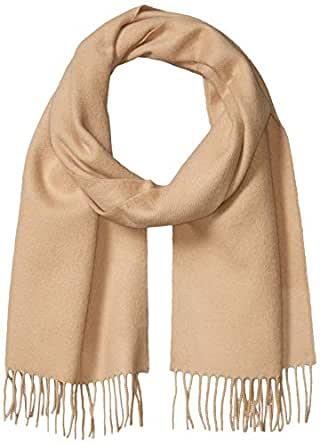 Peruvian Alpaca Scarf - 100% Authentic Baby Alpaca Wool for Men and Women (Biege)