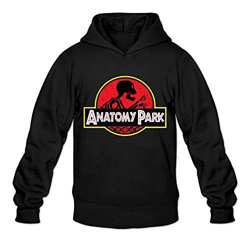 [DVPHQ Men's Funny Park Rick Cartoon Morty Sweater Size XL Black] (Pizza Delivery Man Costume)