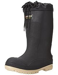 Baffin Men's Titan (PLN)-100c Rubber Safety Boot, Black/Green, 13 3E US