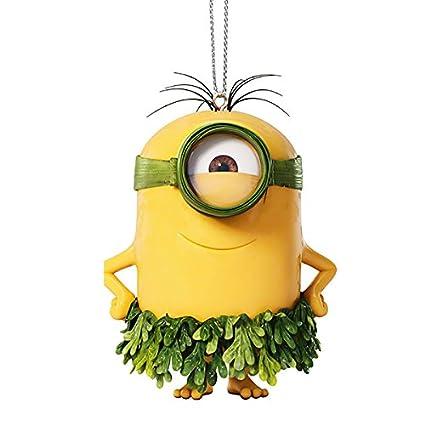 despicable me au naturel minion christmas holiday ornament - Minion Christmas Ornament