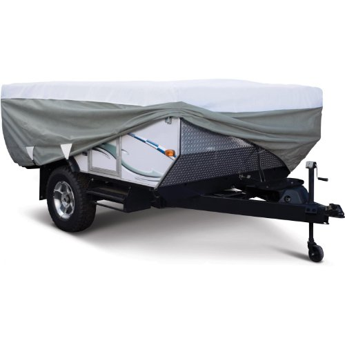 Classic Accessories Polypro 3 Pop-Up Camper Trailer RV Cover 204''L x 88''W x 42''H