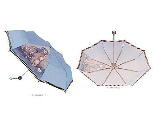 Paraguas Plegable Antiviento Dear Alice Santoro Gorjuss GORJUSS BY SANTORO