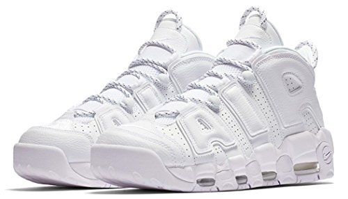 separation shoes 75942 115dd Galleon - Nike Boys Air More Uptempo (GS) Basketball Shoes