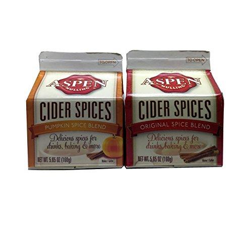 Aspen Mulling Cider Spices Pumpkin Spice Blend , Original Spice Blend , Pack of 2 by AStarStore