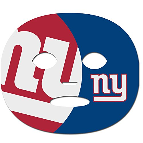 (Siskiyou NFL New York Giants Set of 8 Game Day Faces)
