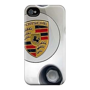 New Cute Funny Porsche Rims Case Cover/ Iphone 4/4s Case Cover